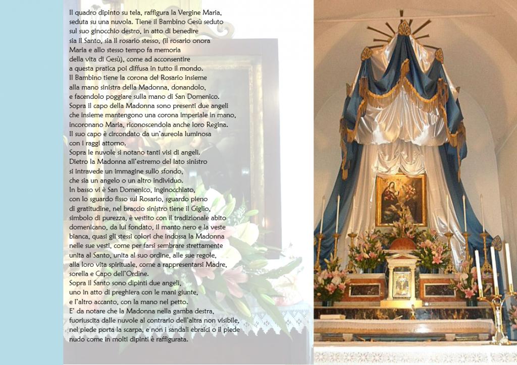 2 il quadro della madonna del rosario