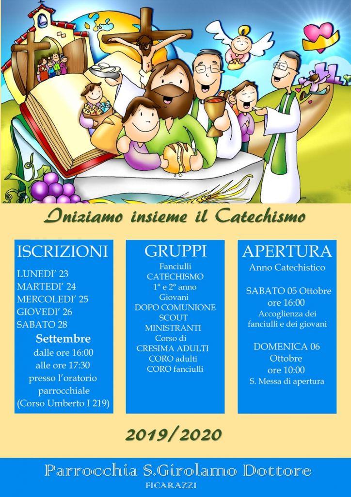 LOCANDINA CATECHISMO 2019 - Copia
